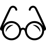 iconmonstr-glasses-4-icon-256