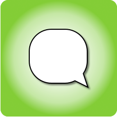 talk bubble icon for thinkit creative: seo web copywriting and ghostwriting company