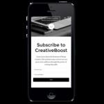 mobile web writing company